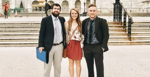 Photo of our members at the Capitol